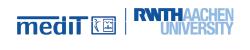 Logo medIT - RWTH Aachen
